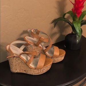 Chunky wedge sandals